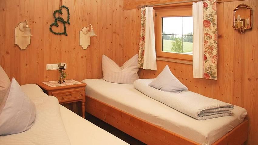 Ferienwohnung Edelsberg Schlafzimmer